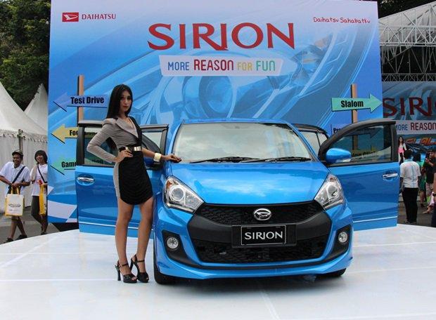 Spesifikasi Lengkap Dan Fitur Daihatsu All New Sirion 2015