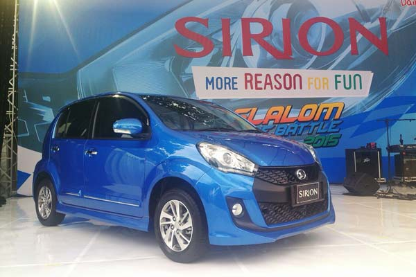 Harga OTR Jakarta Daihatsu Sirion September 2018