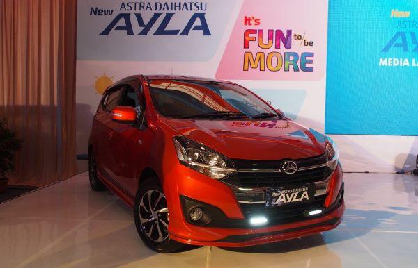 Harga OTR Jakarta Daihatsu Ayla Januari 2019