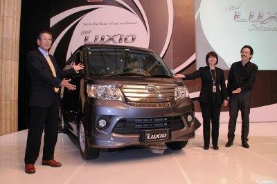 Harga OTR Jakarta Daihatsu Luxio November 2019