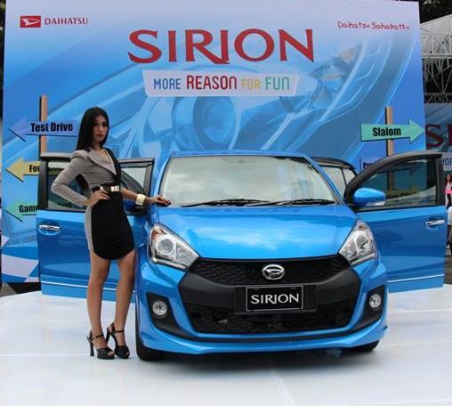 Promo Daihatsu Sirion Oktober 2017, DP & Cicilan Murah