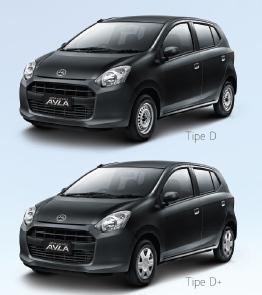 Spesifikasi Daihatsu Ayla Tipe D 2015 Terbaru