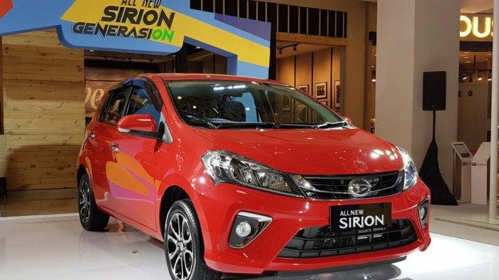 Promo Daihatsu Sirion November 2020, DP & Cicilan Murah